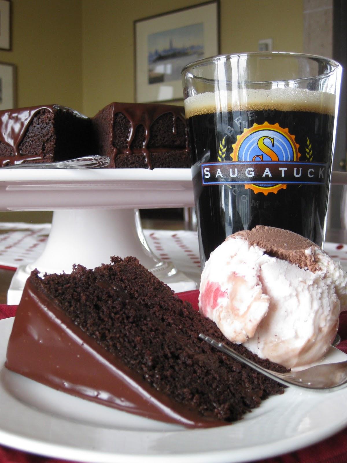Chocolate Beer Cake Saugatuck Brewing Company S