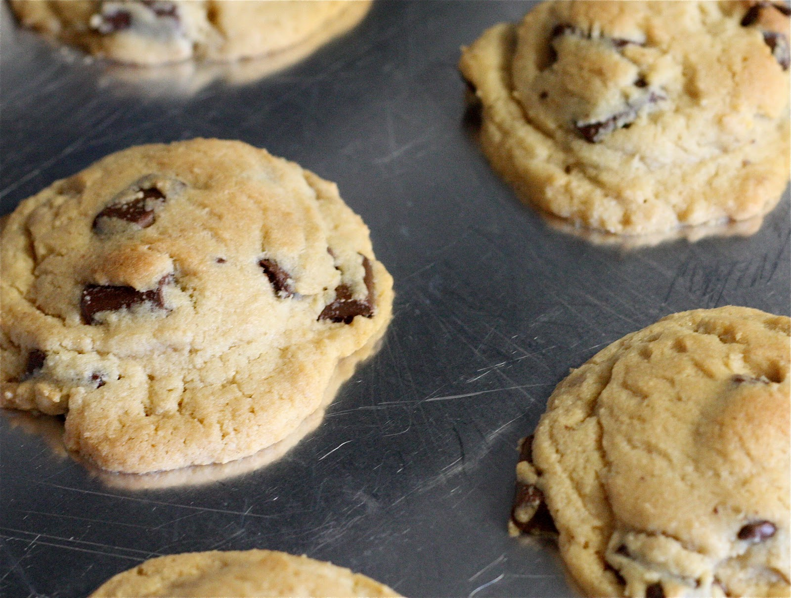keeping it together: my favorite chocolate chip cookies