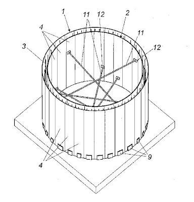 Invento Nuevo: Encofrado perdido de material plástico