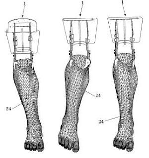 Nuevos inventos: Rodilla articulada para prácticas