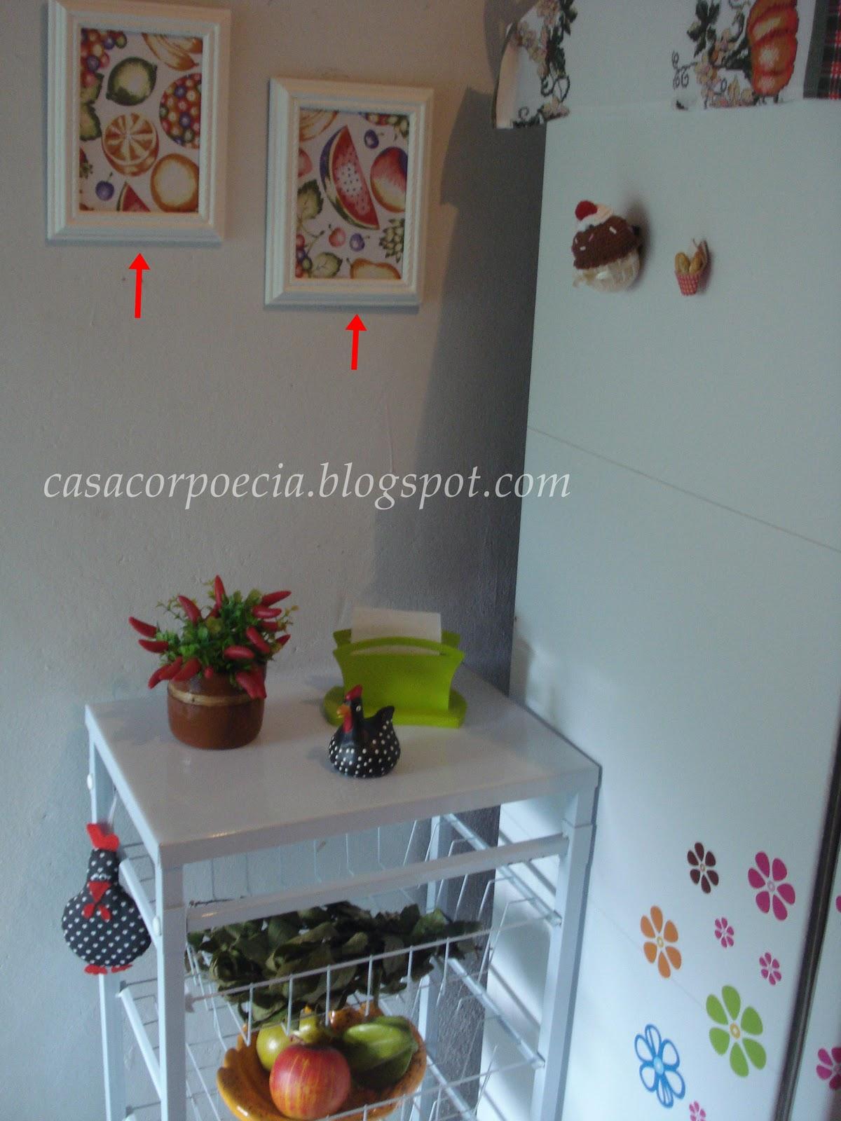 decoracao cozinha fofa:Decoração barata: cozinha simples porém muito organizada com