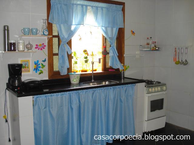 Decoração barata cantinho da cozinha antes e depois!  Casa Corpo e