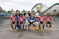 Chivas USA, team photo, Disney,