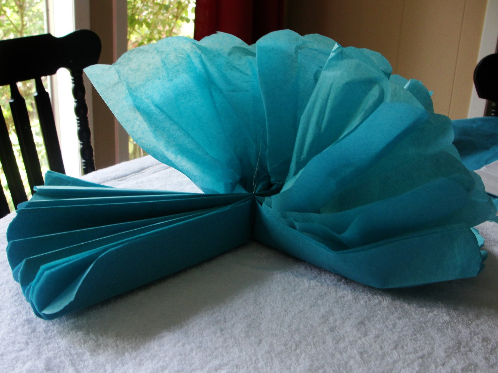 sweetpea 39 s how to make tissue paper pompoms. Black Bedroom Furniture Sets. Home Design Ideas