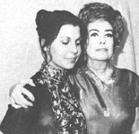 tina sinatra being kidnapped by a crazed joan crawford