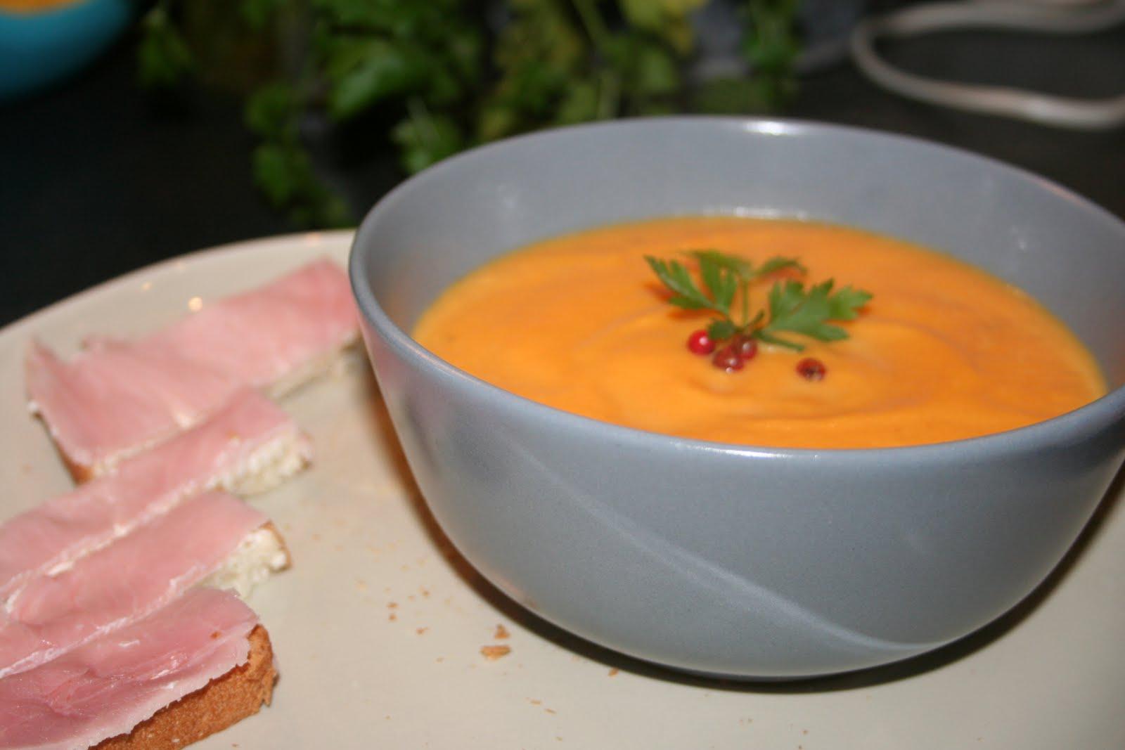 De la soupe au dessert soupe au potiron - Peut on congeler de la soupe ...