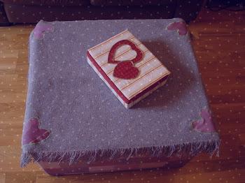 Caja para guardar las telas & Cintas