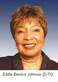 Eddie Bernice Johnson women peace