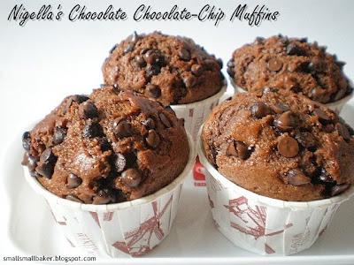 Best chocolate chip muffins recipe uk