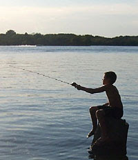 Kenny 39 s great outdoors take a kid fishing in 2009 take for Take a kid fishing
