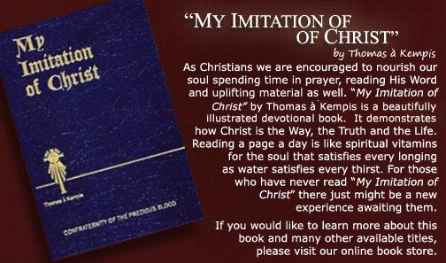 my imitation of christ pdf