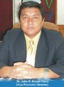 Lic, Julio Kcomt Otero Doctor en Educación.