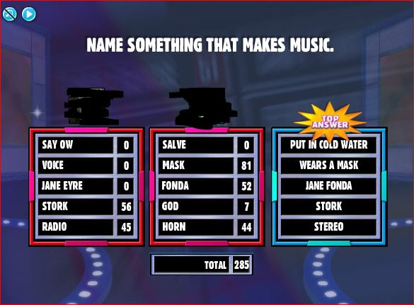 Family feud fast money round game