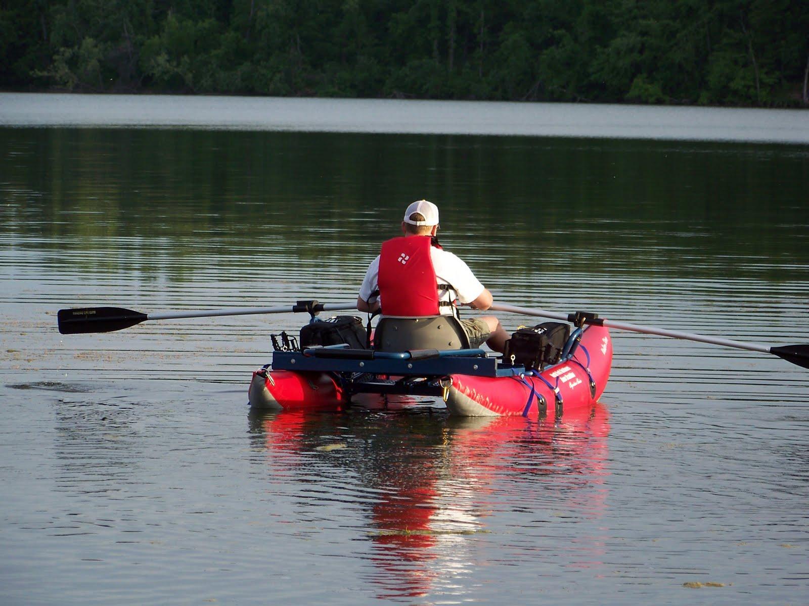 Northwest arkansas fly fishing journal new pontoon boat for Fly fishing pontoon boats