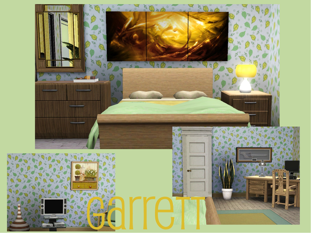 The Sims 3 Home Design Hotshot Focal Point Idc Week 3 Using A Color Story To Create