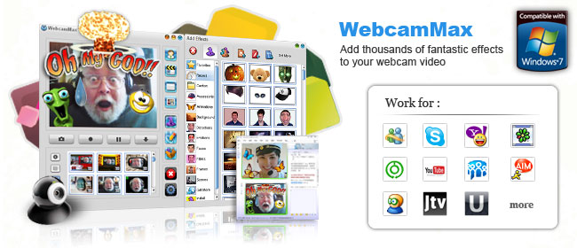 The program, which adds amazing video effects to all webcams, even without a ...