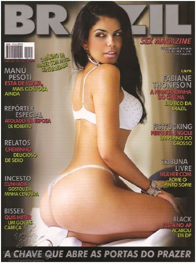 Brazil Sex Magazines - June 2010