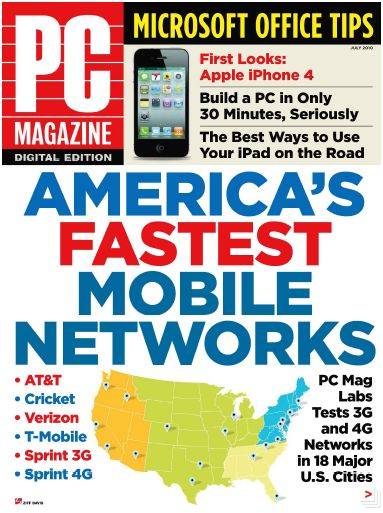 PC Magazine First Look iPhone 4 - July 2010