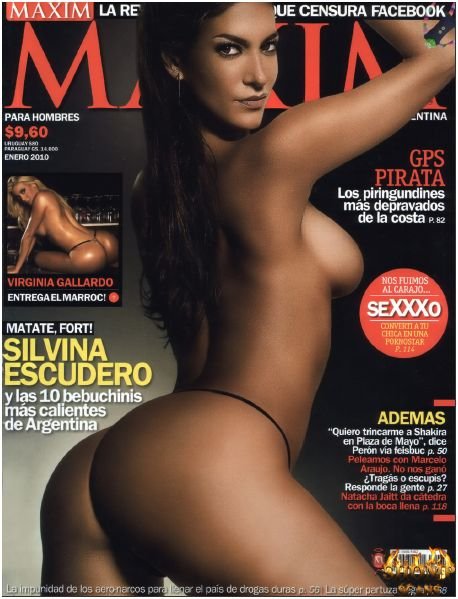 Maxim Magazine Sexy 9 Nude Girls 2010