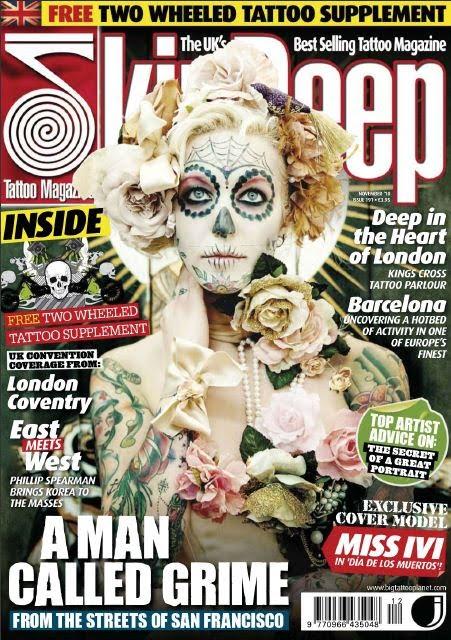 Torrent description. Skin Deep Tattoo Magazine - November 2010