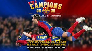 Barcelona winner champions league 2009 barca juara champion 2009