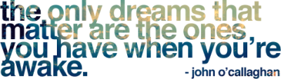 [dreams]