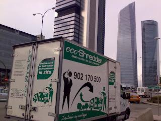 Madrid, nueva delegación de eco Shredder destrucción de Documentos