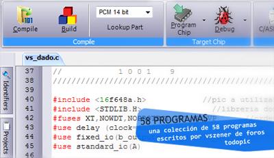 Programas en C para los microcontroladores PIC