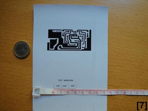 Circuito impreso en papel fotográfico