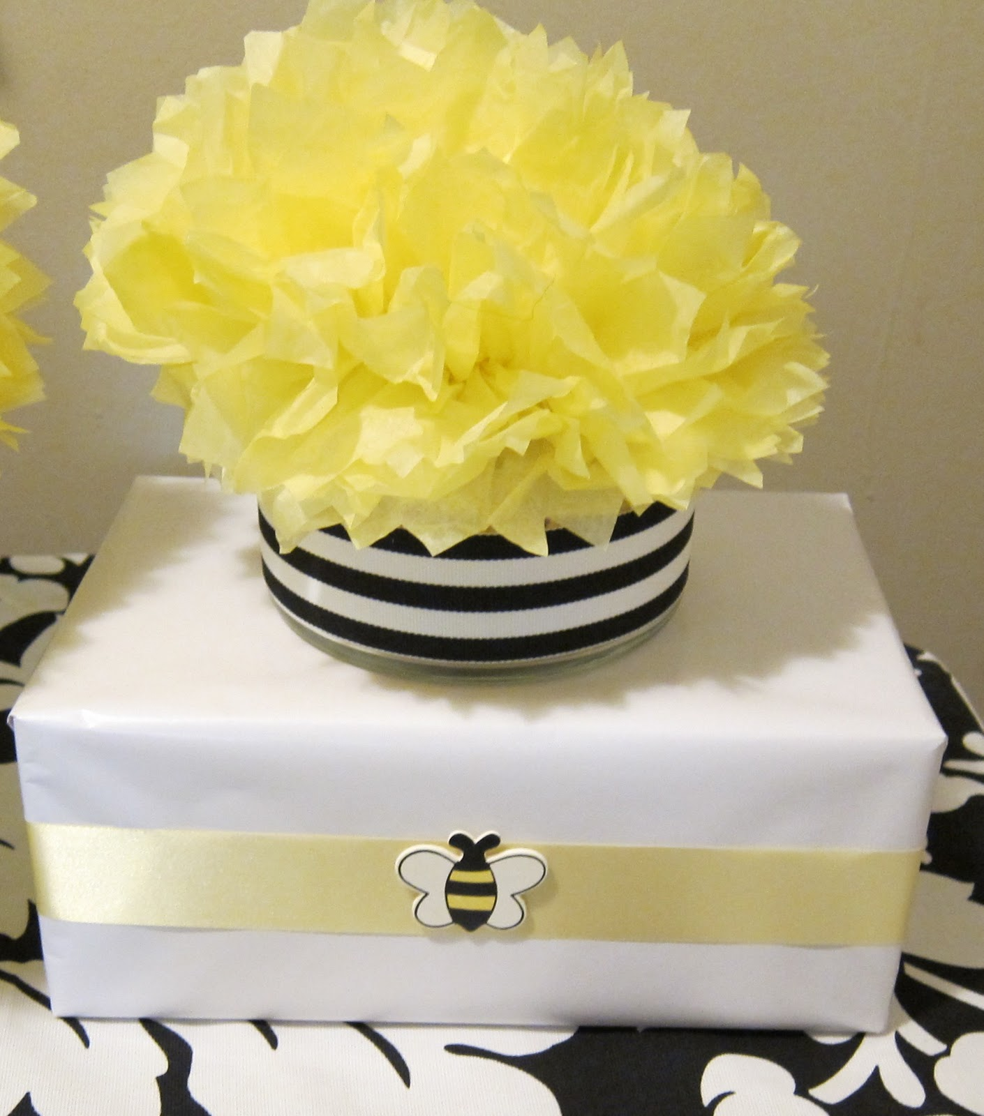 simplyiced party details bumble bee baby shower