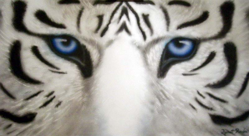 Maltese+Tiger Arta sibiana: Tigru Maltez - Maltese Tiger (blue tiger)