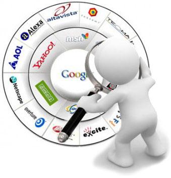 motoare de cautare, Google, MSN, Yahoo, Altavista, Bing