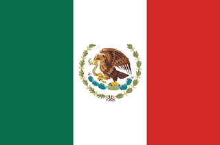 Nations Flags: The United Mexican States