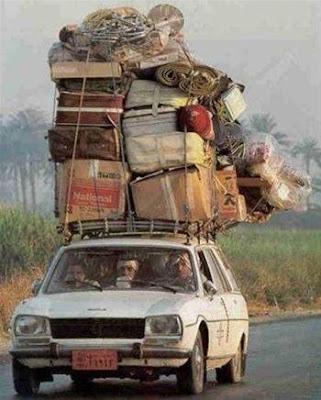 Nos vamos a la costa Auto+cargado+para+el+viaje