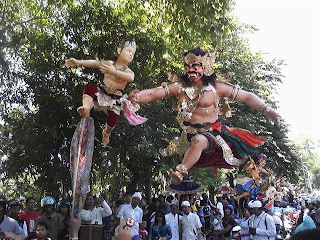 Festival Ogoh-Ogoh Denpasar, Ogoh Ogoh's Fest, Ogoh-Ogoh in Bali,  Ogoh-Ogoh Denpasar