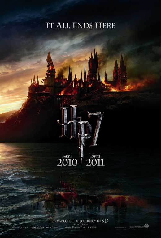 harry potter and deathly hallows in fan. showing of Harry Potter