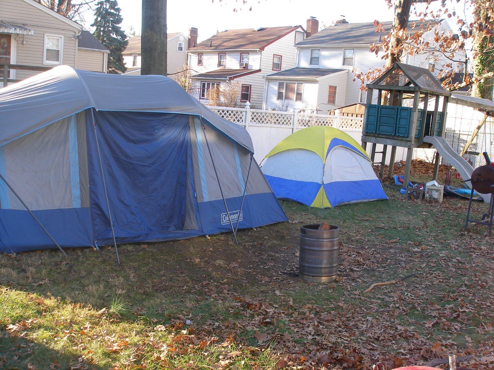 feeling stoopid backyard camping