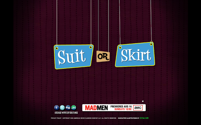 Skirt or Suit?