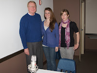 Dr. Harold Dodge, Johnie Aughtman and Jacquelyn Poirier