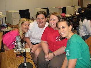 Jenna Deangelo, Haley Mills, Maggie Horst and Caroline Shedd