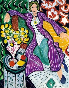 Matisse: Woman in a Purple Coat, 1937
