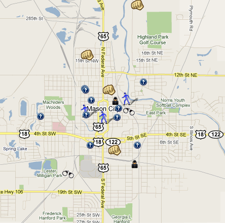 SpotCrime  The Public39s Crime Map July 2010