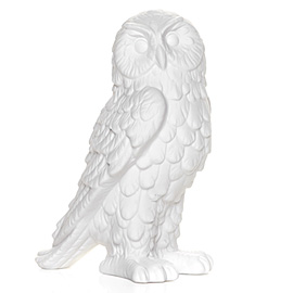 I'm loving this white porcelain owl from Z Gallerie - isn't he majestic?