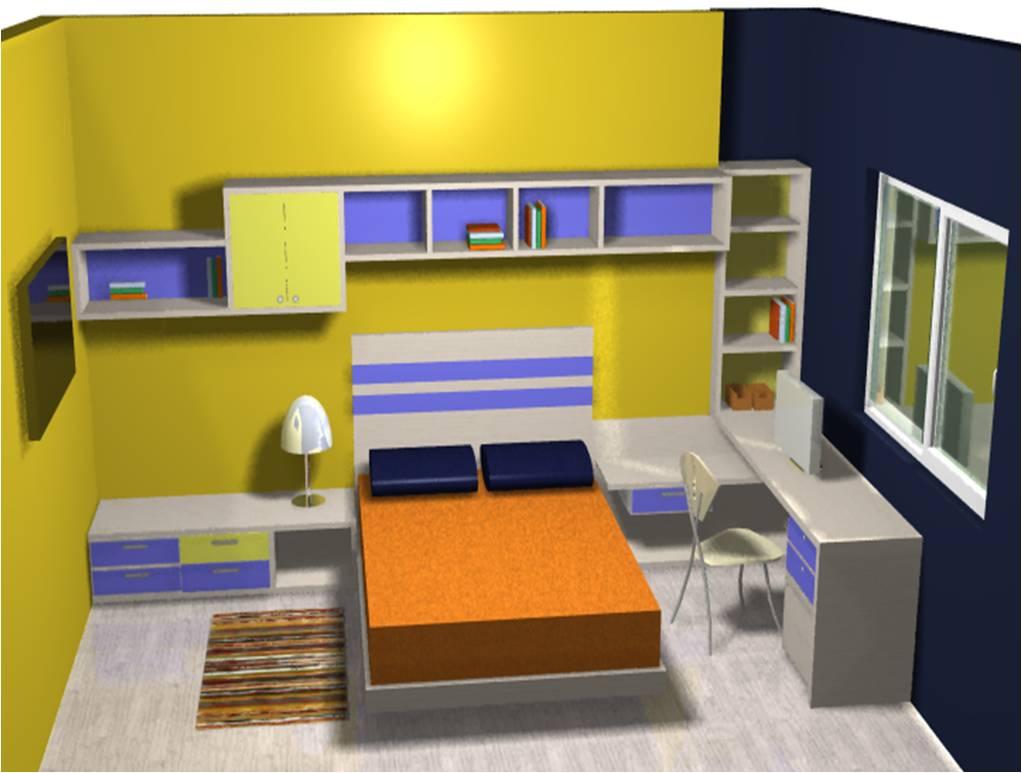 Monica pantin dise o interior habitaci n alejandro ni o for Cuartos de nina de 6 anos