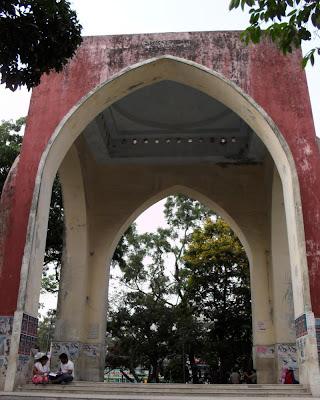 bahadur shah park, victoria park, dhaka, lakkhibazar