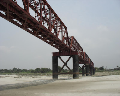 kushtia, river, gorai, bridge