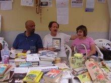 """acr accademia è GEMELLATA con """"Il filo creativo"""" di FLAVIA .. Sergio , Flavia a S.Crstoforo'08"""