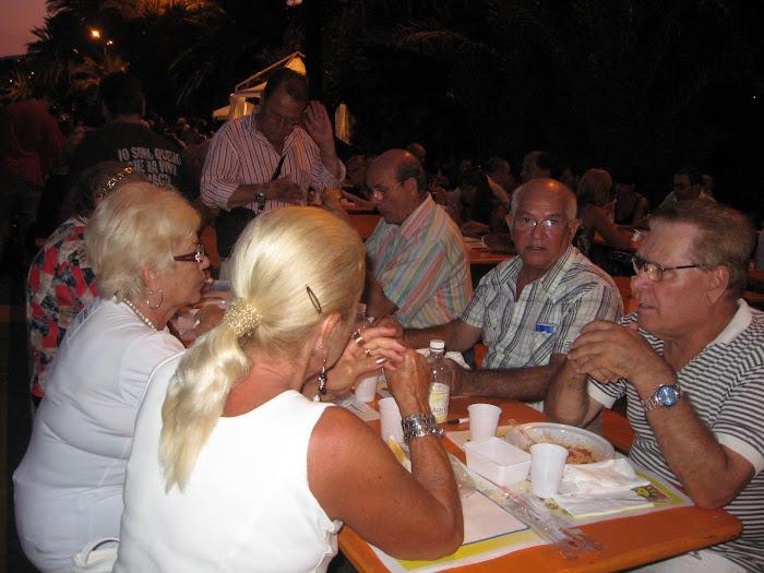 Ferragosto a Sanremo .. lo scrittore siciliano con i CYCLOPES e ACR..
