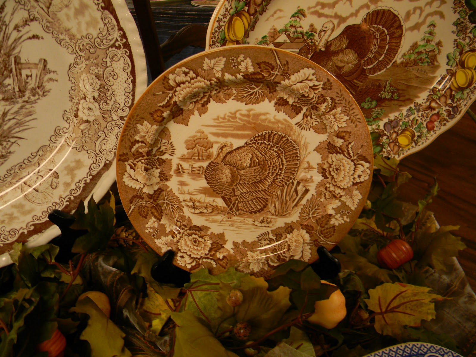 & Nancy\u0027s Daily Dish: Talking Turkey.... and Transferware