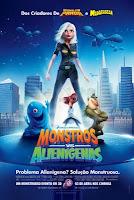 baixar filme Monstros vs. Alienígenas  BRRip Rmvb - Dublado